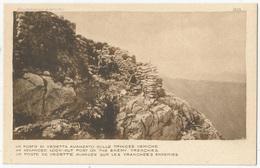 GUERRA D'ITALIA - Un Posto Di Vedetta Avanzato Sulle Trincee Nemiche FP NV - Guerra 1914-18