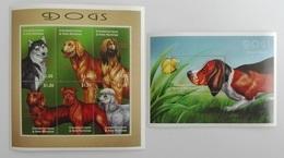 Grenada 2000** Klb.3290-95.+Bl.486. Dogs MNH [14;85] - Honden