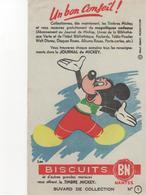 Buvars Journal De Mickey Biscuits BN N° 1 - Food