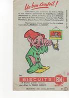 Buvars Journal De Mickey Biscuits BN  N° 3 - Food
