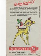Buvars Journal De Mickey Biscuits BN  N° 4 - Food