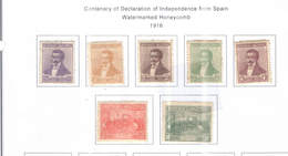 Argentina PO 1916 Cent.Indip.da Spagna   Scott.215/221 See Scans On Scott.Page - Argentina