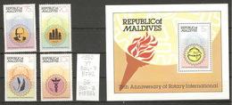 Maldives, Année 1980, Rotary International - Maldives (1965-...)