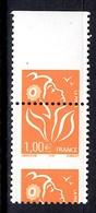 France Lamouche Maury N° 3721 IIb Superbe Variété Piquage à Cheval En Paire Neufs  ** MNH. TB. A Saisir! - Abarten Und Kuriositäten
