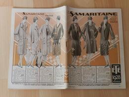 Catalogue SAMARITAINE été 1928 Mode ,meubles Chapeaux Etc - Publicités