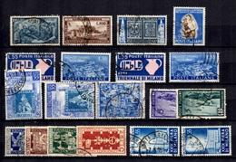 Italie Belle Petite Collection De Bonnes Valeurs Oblitérées 1949/1955. B/TB. A Saisir! - 1946-.. République