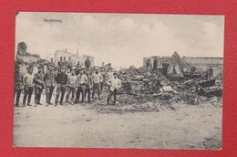 Varennes  --Soldats Allemands Dans Le Village En Ruine  --  33 Inf Div 17/5/1915 - Francia