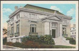 Public Library, Attleboro, Massachusetts, 1927 - Curt Teich Postcard - Other