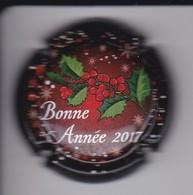 PLACA DE CAVA BONNE ANNEE 2017   (CAPSULE) NAVIDAD-CHRISTMAS - Sparkling Wine