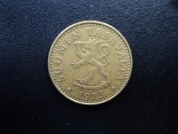 FINLANDE : 20 PENNIÄ   1973 S   KM 47    TTB - Finland