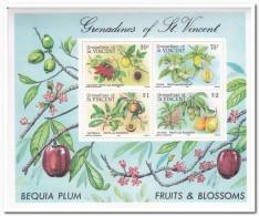 Grenadines Of St. Vincent 1985, Postfris MNH, Fruit - St.Vincent (1979-...)