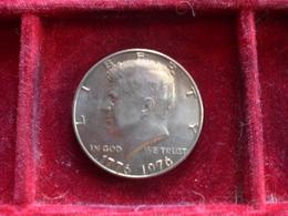 UNITED STATE EE.UU ÉTATS-UNIS US HALF DOLLAR KENNEDY 1976 SILVER ARGENTO RIF. TAGG. - Federal Issues