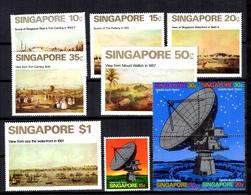 Singapour YT N° 138/142 Et N° 143/148 Neufs *. B/TB. A Saisir! - Singapur (1959-...)