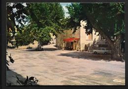Saint Paulet De Caisson Place Café Tabac - Pont-Saint-Esprit Nîmes CPSM Gard Provence - Pont-Saint-Esprit