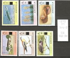 Anguilla, Année 1978, Faune Diverse - Anguilla (1968-...)