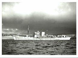 HMS LARGS     20*15 CM  BATTLESHIP BOATS Navio De Guerra - Barco - Warship -Ship - Barcos