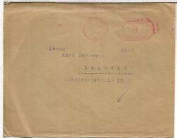 ALEMANIA LEIPZIG 1924 FRANQUEO MECANICO - Deutschland