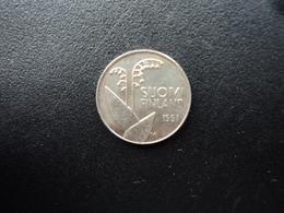 FINLANDE : 10 PENNIÄ   1991 M   KM 65    SUP+ - Finlande