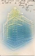 N.Y.CITY.  WALDORF ASTORIA HOTEL  - GAUFFREE CARD - Cafés, Hôtels & Restaurants