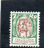 LIECHTENSTEIN 1924-7 ** - Liechtenstein
