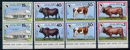 1989 - MALAWI- FAUNA-AFRIKA BANK-2  CPL.SETS = 8 VAL. -M.N.H.- LUXE !! - Malawi (1964-...)