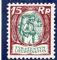 LIECHTENSTEIN 1924-7 * - Liechtenstein