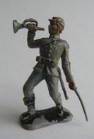 FIGURINE CRESCENT TOYS SOLDAT SUDISTE CLAIRON AVEC SABRE - Army