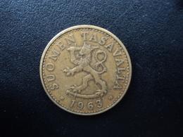 FINLANDE : 50 PENNIÄ   1963 S   KM 48   TTB - Finland