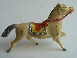 Figurine CYRNOS Far West COW BOY CHEVAL Type3 50's Pas Starlux Clairet (2) - Starlux