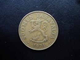 FINLANDE : 50 PENNIÄ   1971 S   KM 48   TTB - Finland