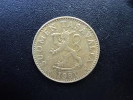 FINLANDE : 50 PENNIÄ   1981 K   KM 48   SUP - Finlande