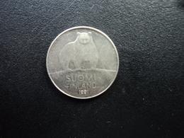 FINLANDE : 50 PENNIÄ   1991 M   KM 66   SUP - Finlande