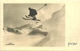 Themes Div -ref W745- Sports D Hiver - Ski - Skieurs - Skieur - Art Et Sport -photo E Meerkamper  - - Winter Sports