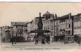 Chalons Sur Marne Place De La Republique - Châlons-sur-Marne