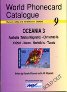 WORLD PHONECARD CATALOGUE-09-OCEANIA 3 - Phonecards