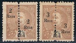 India, 1911/3, # 234/5, MHNG - Portuguese India