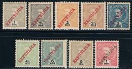 India, 1911, # 200/8, MH - India Portuguesa