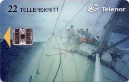 TARJETA TELEFONICA DE NORUEGA. N-97 (018) - Noruega