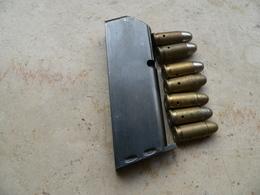 Chargeur MAB C 7.65 Et 7 Cartouches Neutralisées - Armes Neutralisées