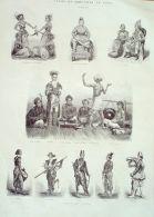 GRAVURE-BRESIL-ILE De JAVA-686-1871 - Engravings