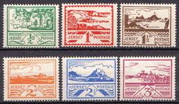 Jersey - German Occupation MH Set - Occupation 1938-45