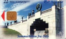 TARJETA TELEFONICA DE NORUEGA. N-127 (023) - Noruega