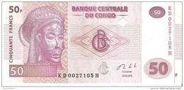 Congo - Pick 97A - 50 Francs 2013 - Unc - Congo