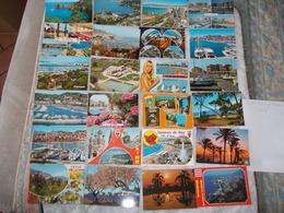 Lot De 66 Cartes Postales De La Cote D'Azur Provence Var Ou Saint Tropez - Cartes Postales