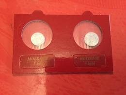 Lot De 2 Pièces Moldavie Voir Le Scan - Lots & Kiloware - Coins