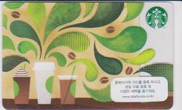GIFT CARD - STARBUCKS - SOUTH KOREA - 6132 - AROMA - Gift Cards