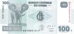 Congo - Pick 98b - 100 Francs 2013 - Unc - Congo