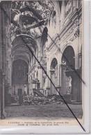Cambrai (59) Intérieur De La Cathédrale,la Grande Nef - Guerre 1914-1918 - Cambrai