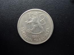 FINLANDE : 1 MARKKA  1980 K  Tranche B *  KM 49a    TTB - Finlande