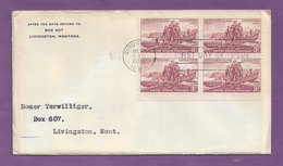 FDC Lewis & Clark Expedition, Block Of Four - Scott #1063 [#2591] - First Day Covers (FDCs)